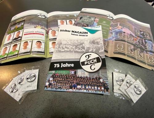 Stickermagazin FC Puch